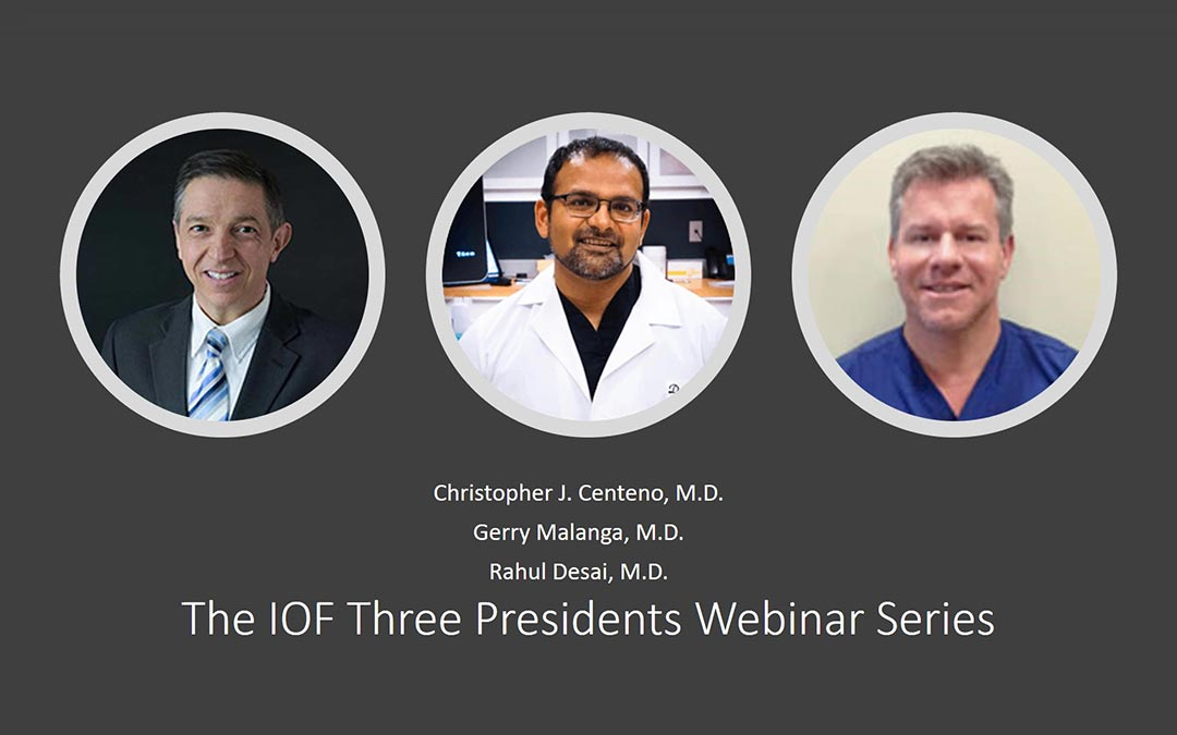 Join Us for the FREE IOF Three Presidents Webinar Series
