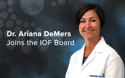 Dr. Ariana DeMers Joins the IOF Board