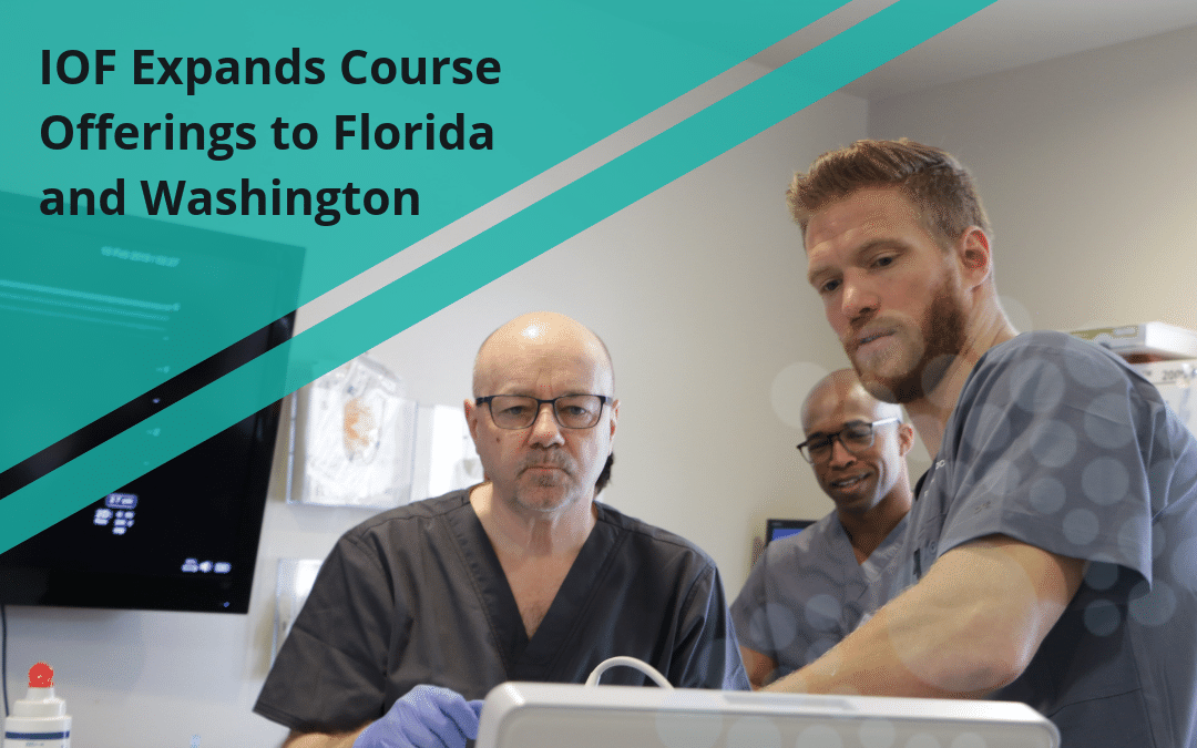 IOF Expands Course Offerings to Florida and Washington