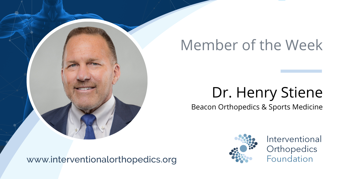 IOF Member of the Week: Dr. Henry Stiene