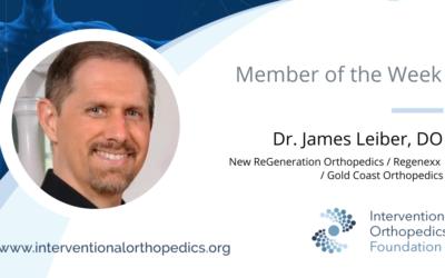 IOF Member of the Week: Dr. Leiber