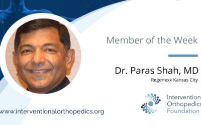 IOF Member of the Week: Dr. Paras Shah