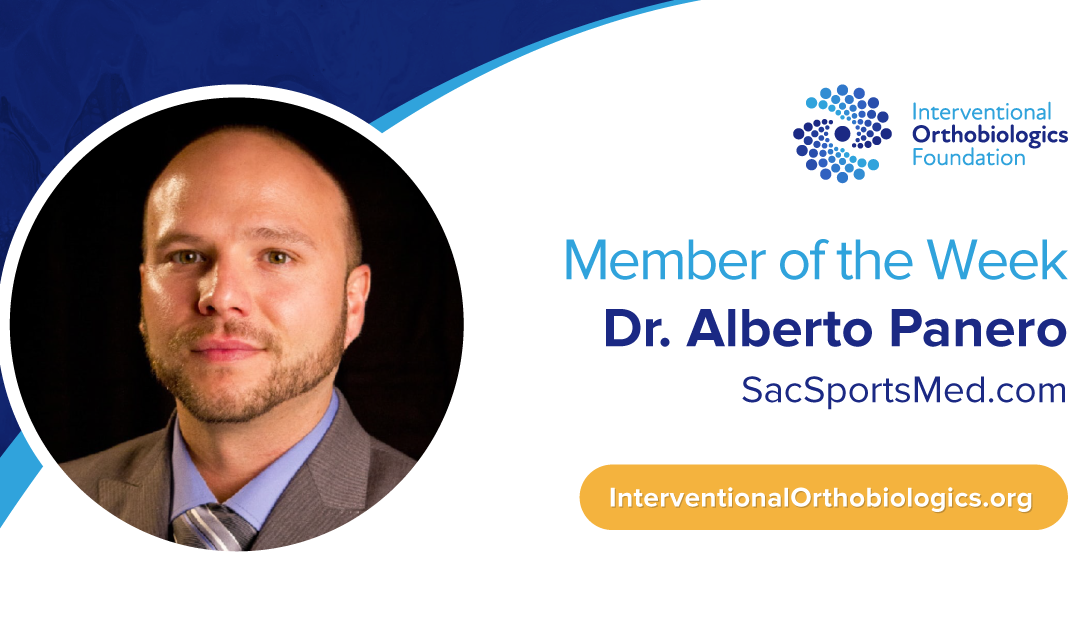 IOF Member of the Week: Dr. Alberto Panero