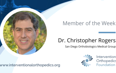 IOF Member of the Week: Dr. Christopher Rogers