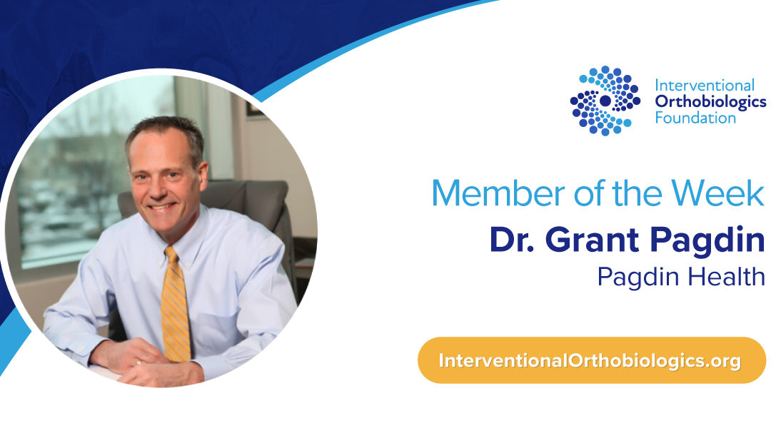 IOF Member of the Week: Dr. Grant Pagdin