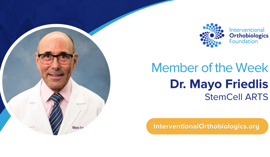 IOF Member of the Week: Dr. Mayo Friedlis