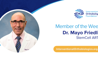 IOF Member of the Week: Dr. Mayo Friedlis
