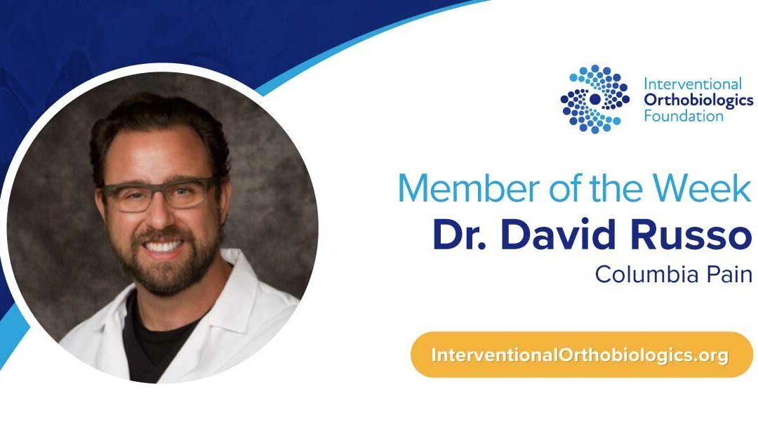 IOF Member of the Week: Dr. David Russo