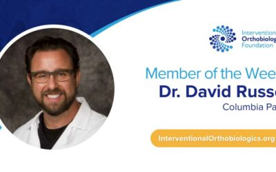 IOF Member of the Week: Dr. David Russo