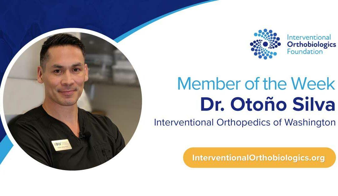 IOF Member of the Week: Dr. Otoño Silva