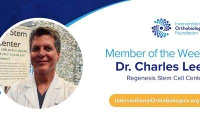 IOF Member of the Week: Dr. Charles Lee