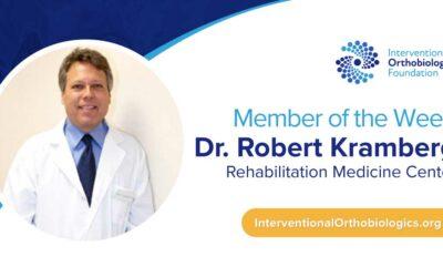 IOF Member of the Week: Dr. Robert Kramberg