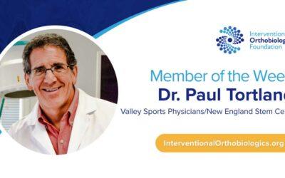 IOF Member of the Week: Dr. Paul Tortland