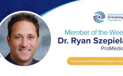 IOF Member of the Week: Dr. Ryan Szepiela