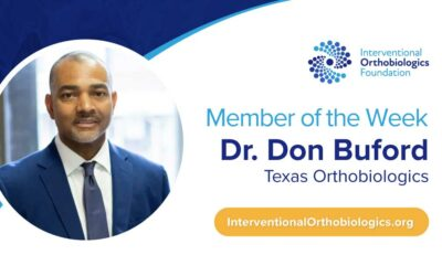 IOF Member of the Week: Dr. Don Buford